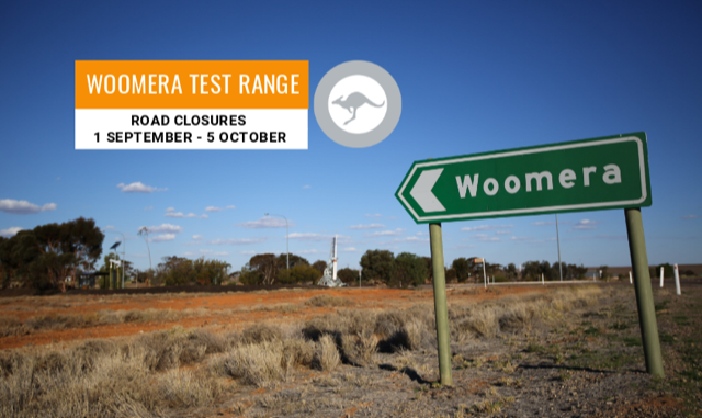 Woomera Prohibited Area - exclusions UPDATE