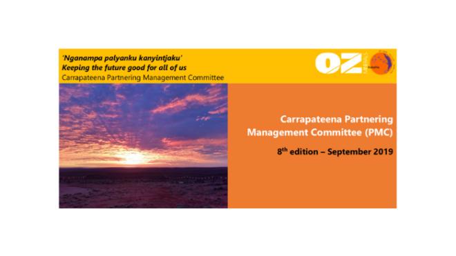OZ Minerals PMC Newsletter - Aug/Sept 2019
