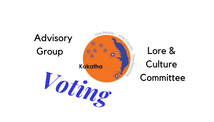 Advisory Group and Lore & Culture Committee Voting
