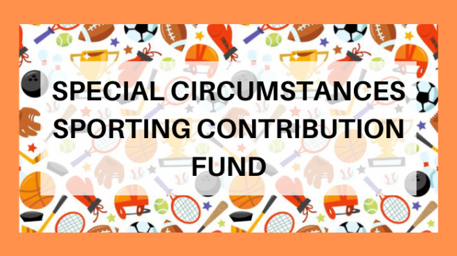 Special Circumstances Sporting Contribution Fund