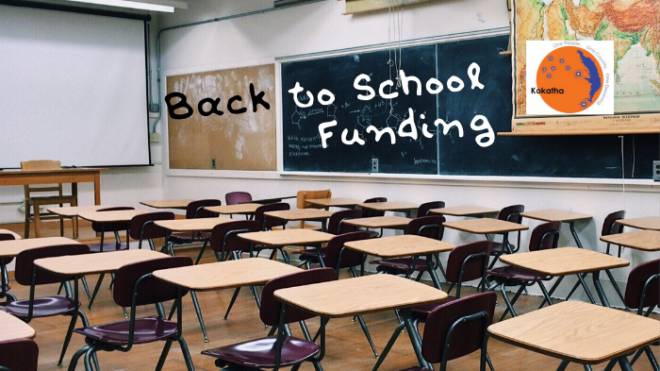 Back to School Funding - Applications Now Open