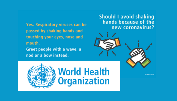 World Health Organisation (WHO) – Coronavirus Guidance