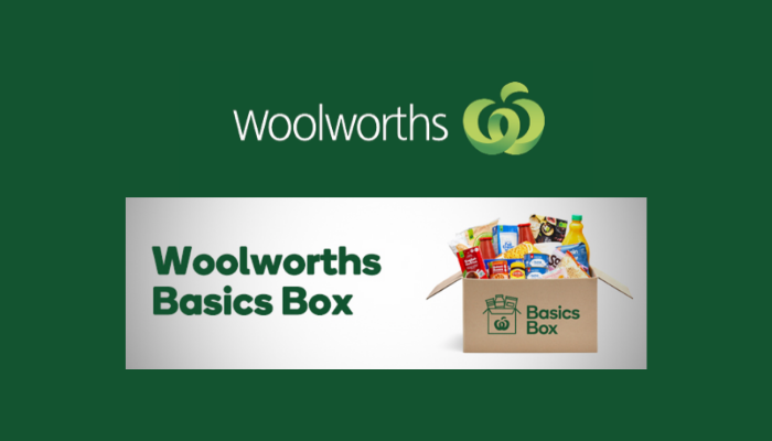 Woolworths Basics Box Delivery