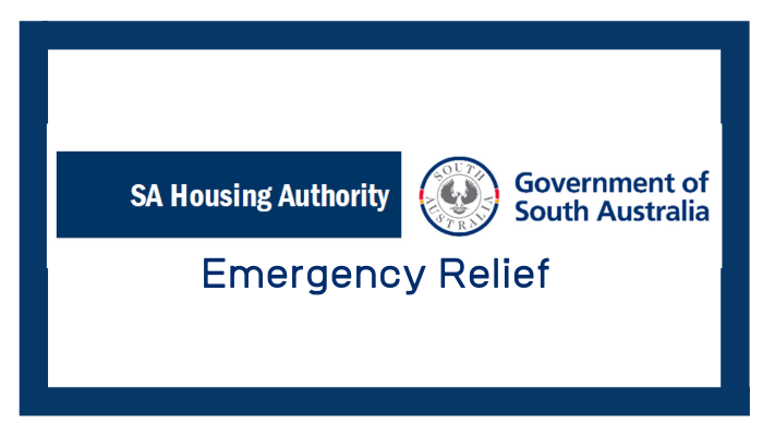 SA Housing – Emergency Relief
