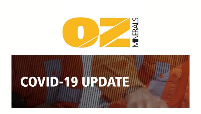 OZ Minerals – COVID-19 Update