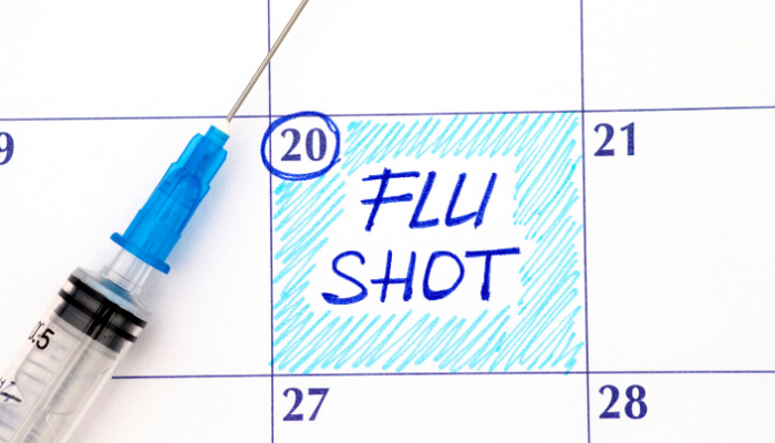 Stay Well and Get Your FLU SHOT now.