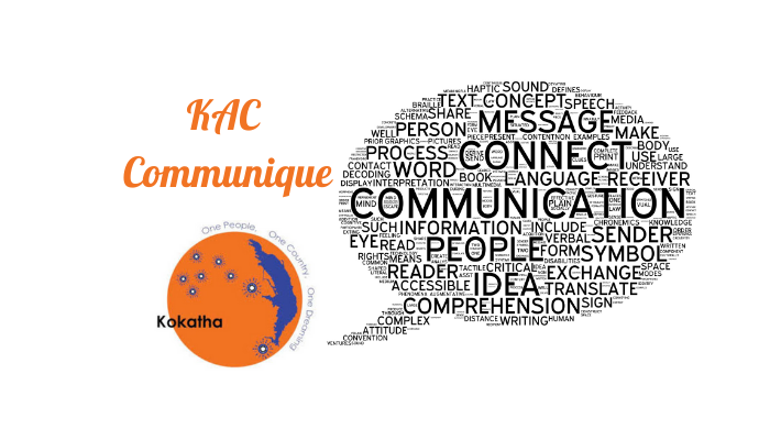 KAC Communique- April 2020