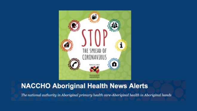 Aboriginal Health #CoronaVirus News