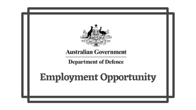 Job Alert - Department of Defence Signals Directorate