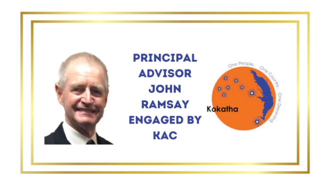 Casual Engagement of new  Principal Advisor