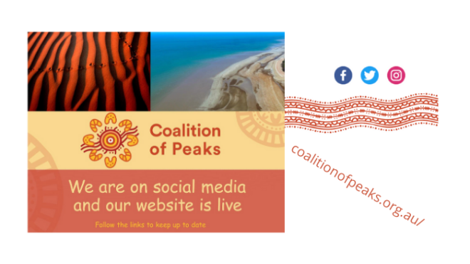 The Coalition of Peaks launch website and social media