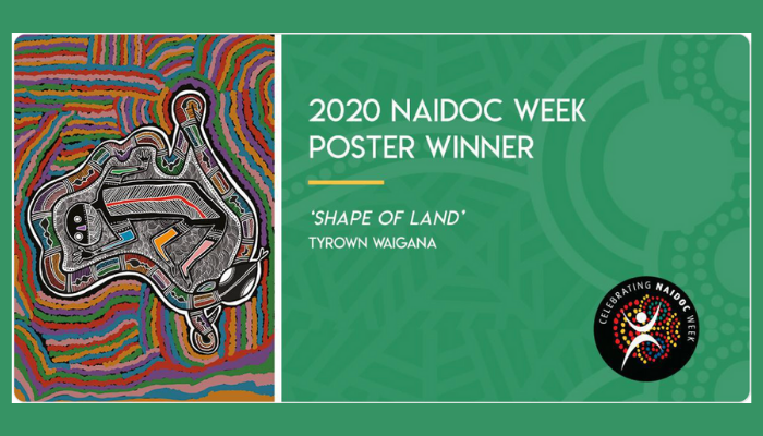NAIDOC 2020 Poster competition winner