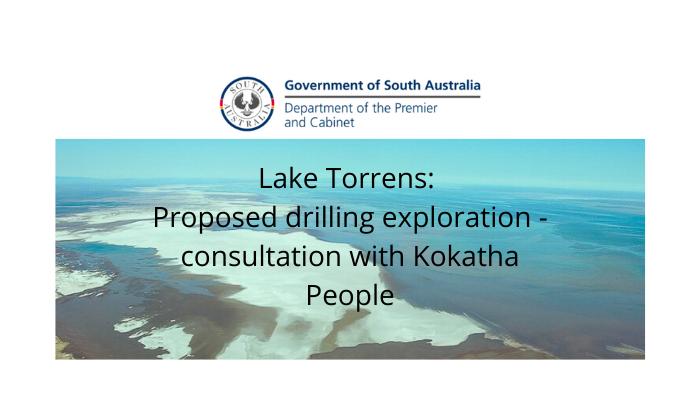 Consultation – Lake Torrens drilling proposal