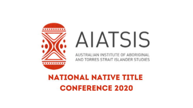 National Native Title Conference 2020