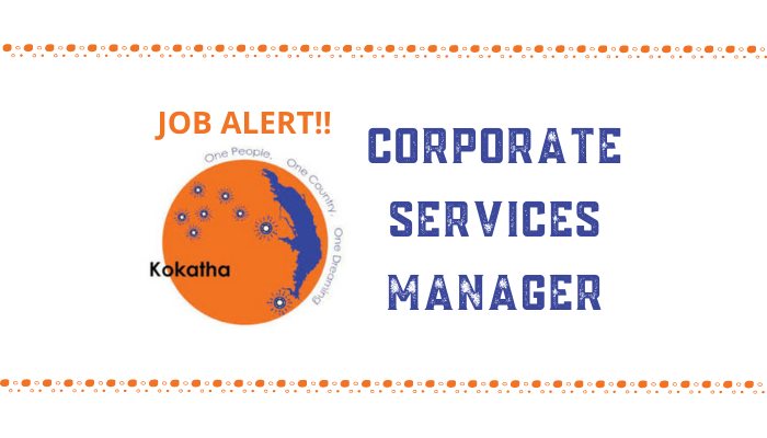 KAC Recruitment: Corporate Services Manager