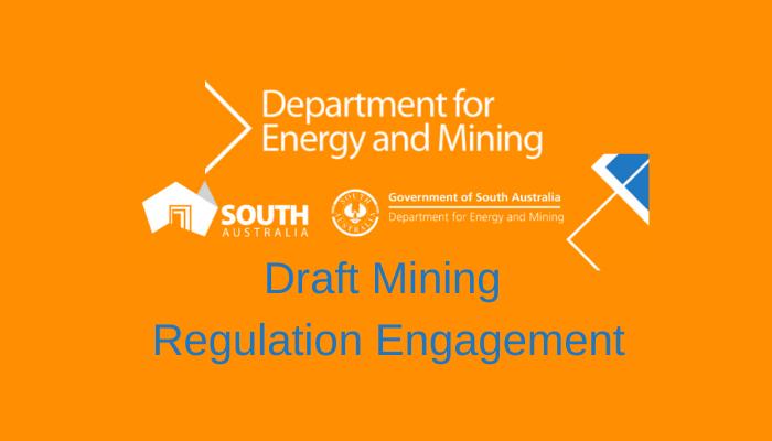 Draft Mining Regulation Engagement