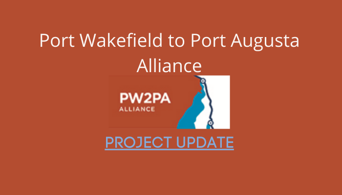 Port Wakefield overpass and highway duplication Project Update August 2020