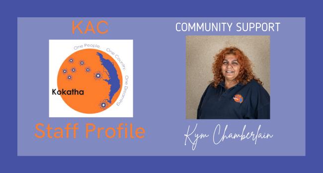 Meet the Team – Kym Chamberlain