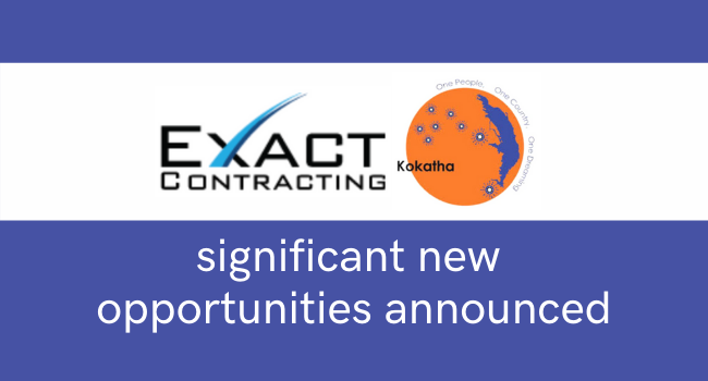 Information Session ~ KAC & EXACT new Opportunities