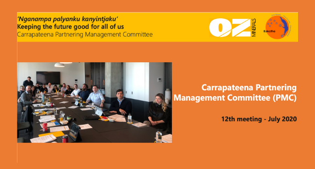 Carrapateena Partnering Committee July 2020 - Newsletter