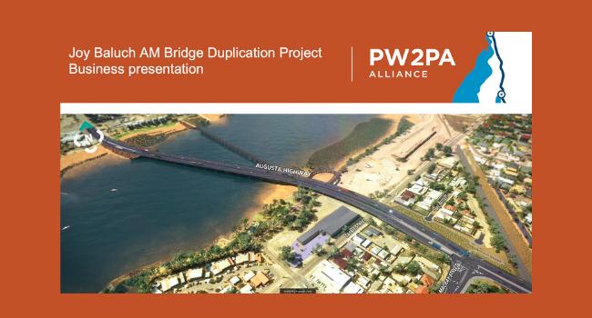 Bridge Duplication Project Business presentation invitation October 2020