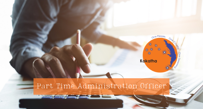 Part Time Administration Officer wanted