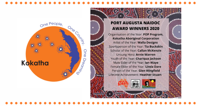 KAC recognised at Port Augusta NAIDOC 2020 Awards