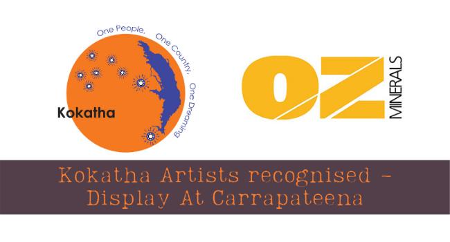 Kokatha Art On Display At Carrapateena