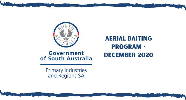 PIRSA Aerial Baiting Program December 2020