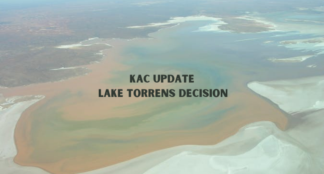 UPDATE: KAC's response to approval for exploration on Lake Torrens