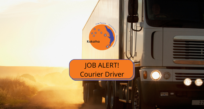 Courier Driver – Part Time