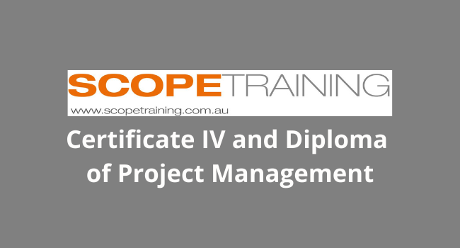 Certificate IV and Diploma of Project Management