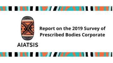 Report on the 2019 Survey of Prescribed Bodies Corporate