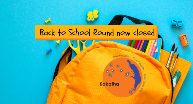 Back to School Round – now closed