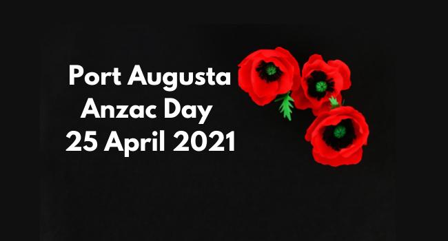 Anzac Day Port Augusta Update