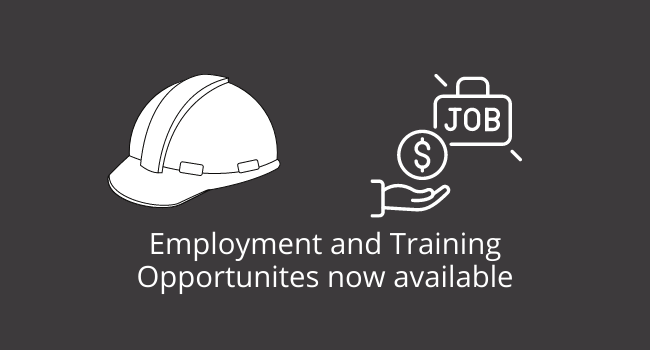 Employment Opportunities available now