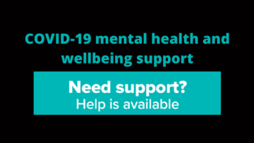 COVID mental health and wellbeing support