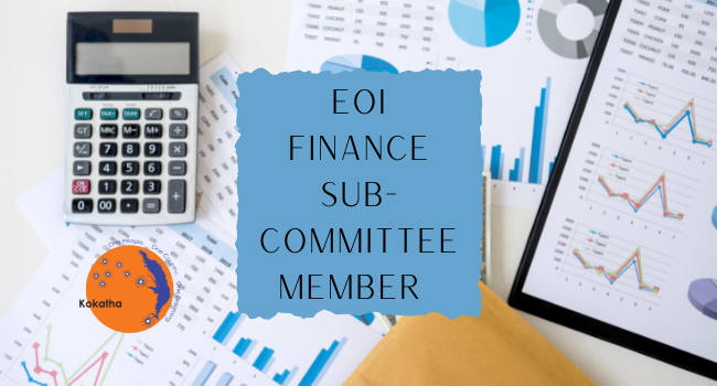 EOI - Finance Sub-Committee Independent Member